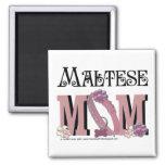 Maltese MOM Fridge Magnet