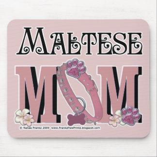 Maltese MOM Mouse Pad