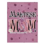 Maltese MOM Post Card