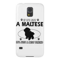 Case-Mate Barely There Samsung Galaxy S5 Case with Maltese Phone Cases design