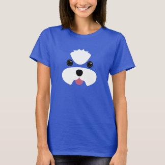 Maltese no topknot puppy cut T-Shirt
