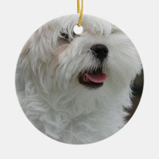 Maltese Ornament