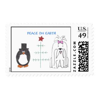 Maltese Peace On Earth Postage