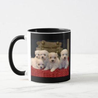 Maltese Puppies for Puppy Lovers Everywhere Mug