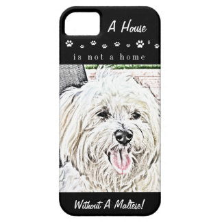 Maltese Puppy iPhone 5 Case