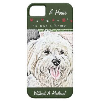Maltese Puppy Lover's iPhone 5 Case
