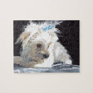Maltese Puppy Puzzle