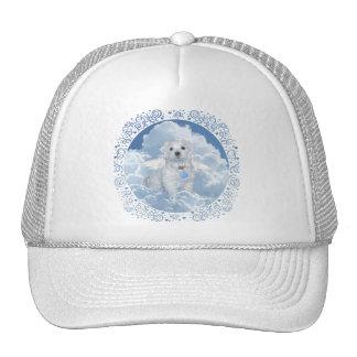 Maltese Rescue Angel Trucker Hat