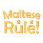 Maltese Rule! Postcards