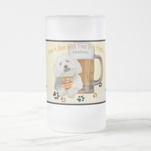 Maltese Share A Beer With Your Best Friend Mug
