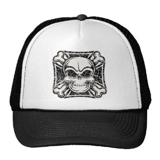 Maltese Skull & Crossbones Mesh Hat