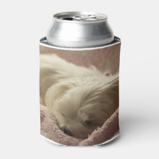 maltese sleeping.png can cooler