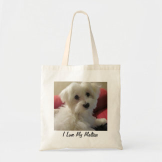 Maltese Tote Bag - Easy to Personalize