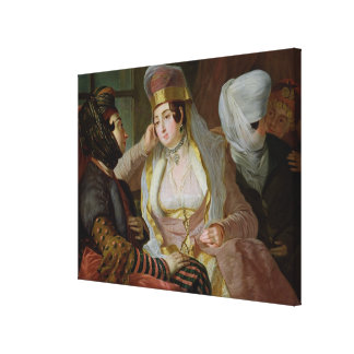 Maltese Women Canvas Print