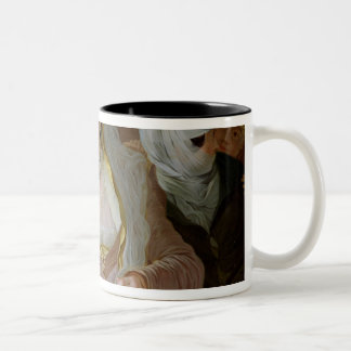 Maltese Women Two-Tone Coffee Mug