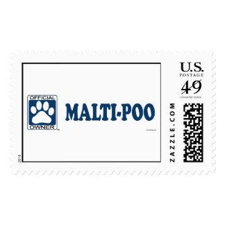 Malti-Poo Blue Stamps