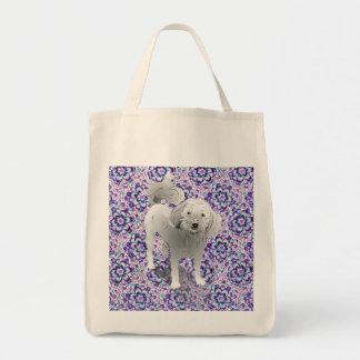 Maltipoo Cute Little White Dog Tote Bag