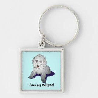 Maltipoo Cute Puppy Keychains
