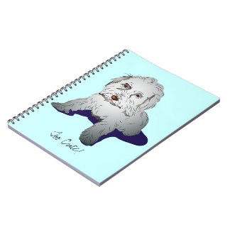 Maltipoo Cute Puppy Spiral Note Books