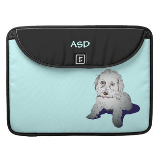 Maltipoo Cute Puppy Personalized MacBook Pro Sleeve