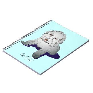 Maltipoo Cute Puppy Spiral Notebook