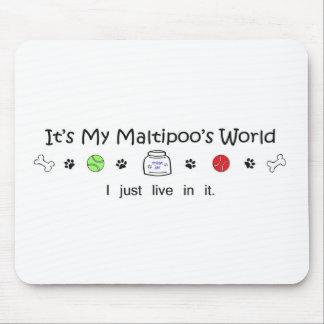 Maltipoo Mouse Pad