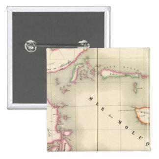 Maluku Oceania no 21 Pinback Button