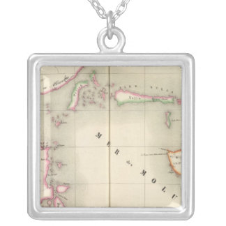 Maluku Oceania no 21 Silver Plated Necklace