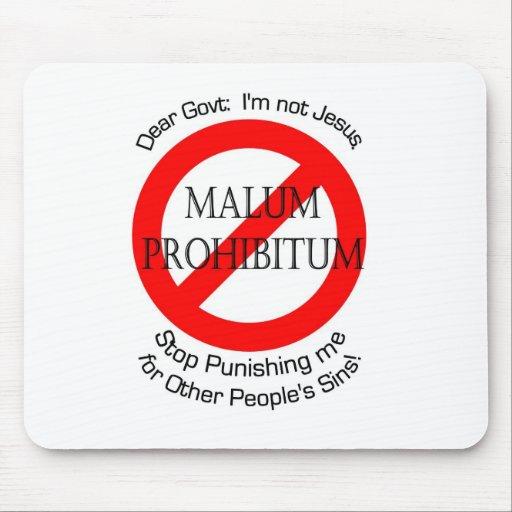 Malum Prohibitum Alfombrillas De Ratones