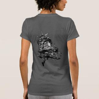 Malvado de FLomm: De ThWINGh parte posterior Camisetas