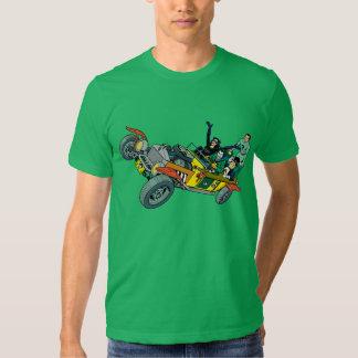 Malvados de Batman en Jokermobile Camisas
