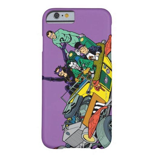 Malvados de Batman en Jokermobile Funda De iPhone 6 Barely There