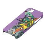 Malvados de Batman en Jokermobile Funda Para iPhone 5 Barely There