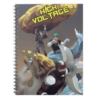 Malvados del alto voltaje: Cuaderno de la foto