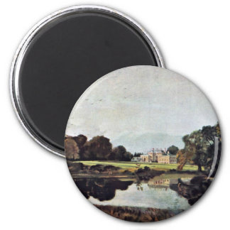 Malvern Hall By John Constable (Best Quality) Fridge Magnet