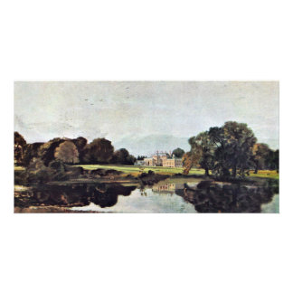 Malvern Hall By John Constable (Best Quality) Photo Card Template