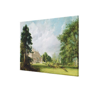 Malvern Hall, Warwickshire, 1821 Canvas Prints