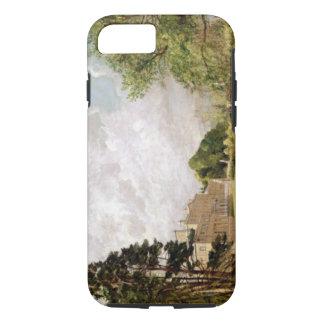 Malvern Hall, Warwickshire, c.1820-21 (oil on canv iPhone 8/7 Case