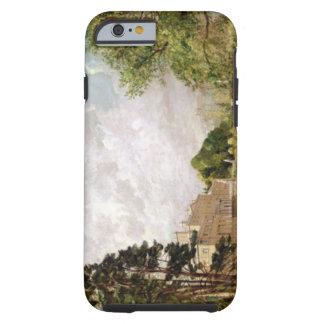 Malvern Hall, Warwickshire, c.1820-21 (oil on canv Tough iPhone 6 Case