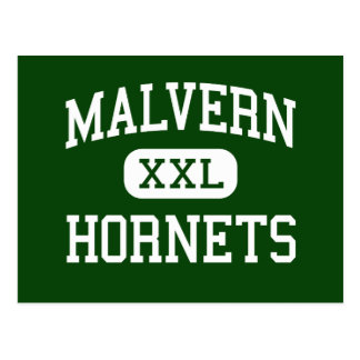 Malvern - Hornets - High School - Malvern Ohio Postcard