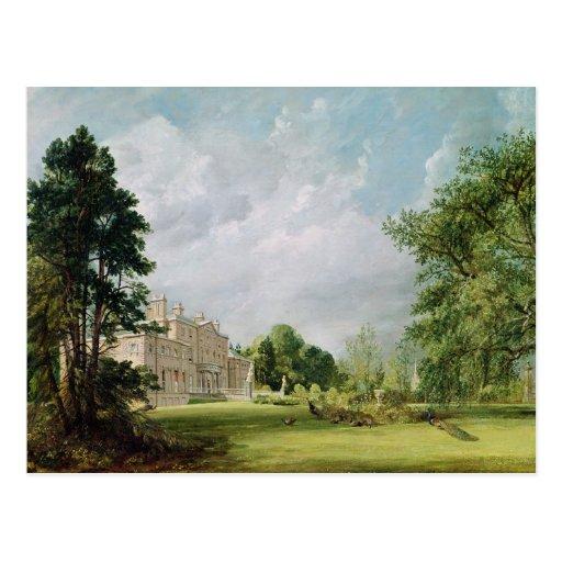 Malvern Pasillo, Warwickshire, 1821 Postales