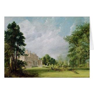 Malvern Pasillo, Warwickshire, 1821 Tarjeta De Felicitación
