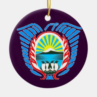 Malvinas Argentina Christmas Ornament