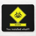 Malware Mousepad Alfombrillas De Ratón