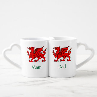 Mam and Dad - Welsh Parents' Lovers Mugs