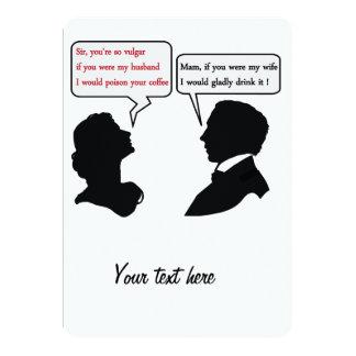 Mam and Sir joke Card