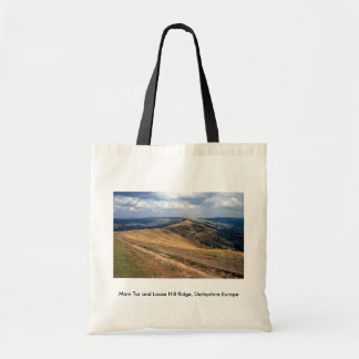 Mam Tor and Loose Hill Ridge, Derbyshire Europe Canvas Bag