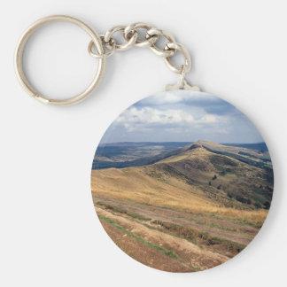 Mam Tor and Loose Hill Ridge, Derbyshire Europe Keychain