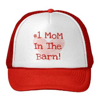 Mamá #1 en el granero gorros