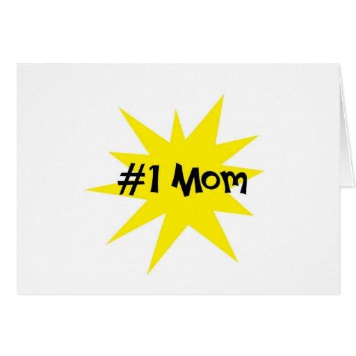 Mamá #1 felicitación